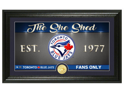 Toronto Blue Jays Highland Mint She Shed Panoramic Bronze Coin Photo Mint