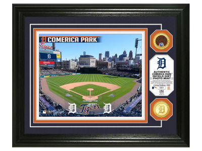 Detroit Tigers Highland Mint Dirt Coin Photo Mint