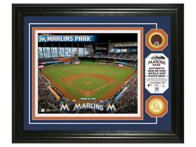 Miami Marlins Highland Mint Dirt Coin Photo Mint