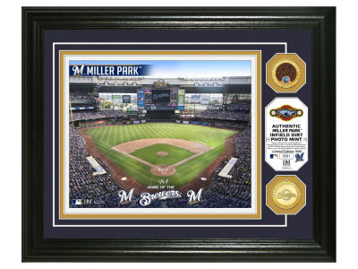 Milwaukee Brewers Highland Mint Dirt Coin Photo Mint