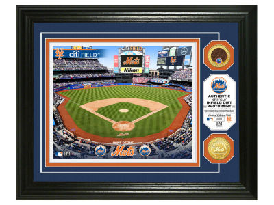 New York Mets Highland Mint Dirt Coin Photo Mint