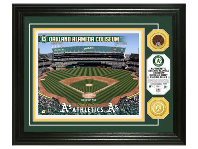 Oakland Athletics Highland Mint Dirt Coin Photo Mint