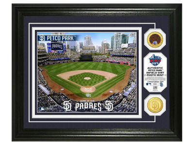San Diego Padres Highland Mint Dirt Coin Photo Mint