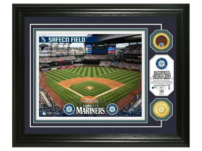 Seattle Mariners Highland Mint Dirt Coin Photo Mint