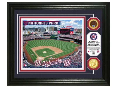 Washington Nationals Highland Mint Dirt Coin Photo Mint