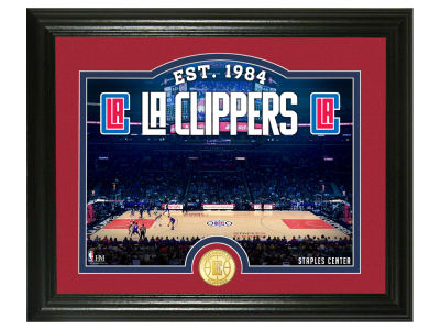 Los Angeles Clippers Highland Mint Court Minted Coin Photo Mint