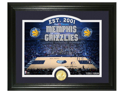 Memphis Grizzlies Highland Mint Court Minted Coin Photo Mint