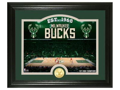 Milwaukee Bucks Highland Mint Court Minted Coin Photo Mint