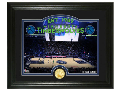 Minnesota Timberwolves Highland Mint Court Minted Coin Photo Mint