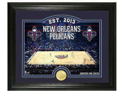 New Orleans Pelicans Highland Mint Court Minted Coin Photo Mint