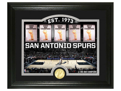 San Antonio Spurs Highland Mint Court Minted Coin Photo Mint