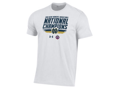 Notre Dame Fighting Irish Under Armour 2018 NCAA Men's Locker Room Champ Women's Basketball T-Shirt