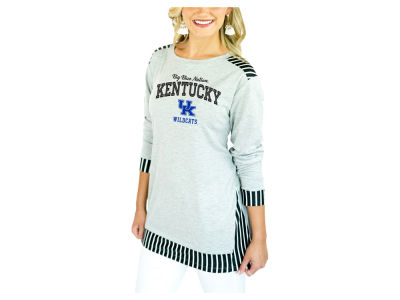 Kentucky Wildcats Gameday Couture 2018 NCAA Women's Striped Panel Long Sleeve T-Shirt