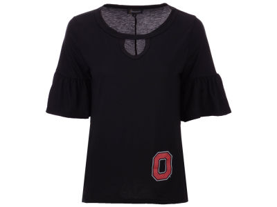 Gameday Couture NCAA Women's Ruffle & Ready T-shirt