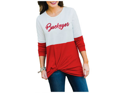 Gameday Couture NCAA Women's Colorblock Twist Long Sleeve T-Shirt