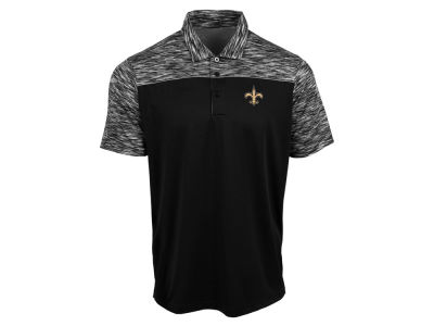 New Orleans Saints Antigua NFL Men's Final Play Polo