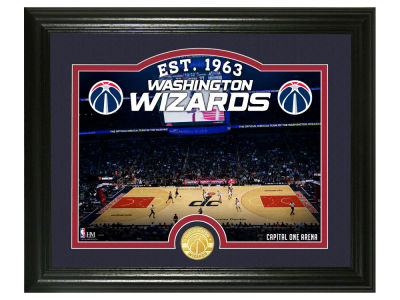 Washington Wizards Highland Mint Court Minted Coin Photo Mint