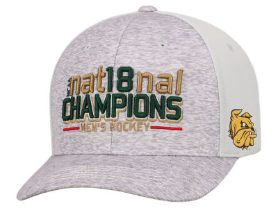 Minnesota Duluth Bulldogs Top of the World 2018 NCAA Frozen Four Champ Cap