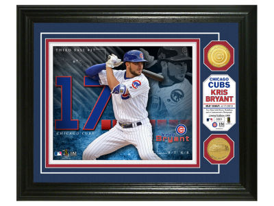 Chicago Cubs Kris Bryant Highland Mint Bronze Coin Photo Mint