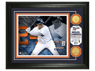 Detroit Tigers Miguel Cabrera Highland Mint Bronze Coin Photo Mint