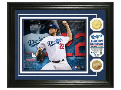 Los Angeles Dodgers Clayton Kershaw Highland Mint Bronze Coin Photo Mint