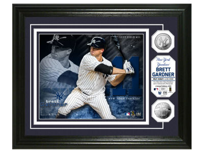 New York Yankees Brett Gardner Highland Mint Bronze Coin Photo Mint
