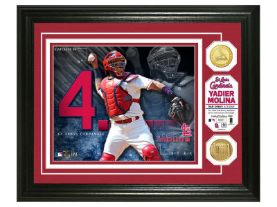 St. Louis Cardinals Yadier Molina Highland Mint Bronze Coin Photo Mint