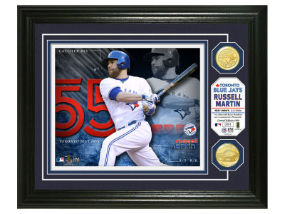 Toronto Blue Jays Russell Martin Highland Mint Bronze Coin Photo Mint