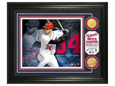 Washington Nationals Bryce Harper Highland Mint Bronze Coin Photo Mint