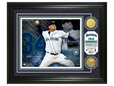 Seattle Mariners Felix Hernandez Highland Mint Bronze Coin Photo Mint