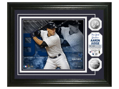 New York Yankees Aaron Judge Highland Mint Bronze Coin Photo Mint