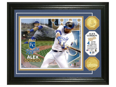 Kansas City Royals Alex Gordon Highland Mint Bronze Coin Photo Mint