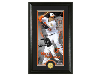 Baltimore Orioles Manny Machado Highland Mint Supreme Bronze Coin Photo Mint V