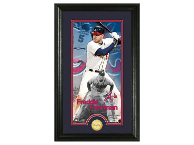 Atlanta Braves Freddie Freeman Highland Mint Supreme Bronze Coin Photo Mint V