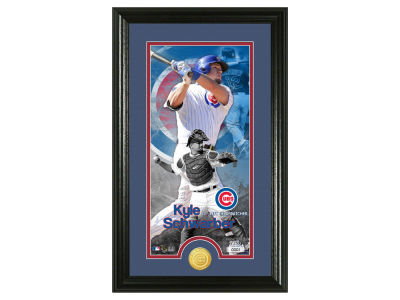 Chicago Cubs Kyle Schwarber Highland Mint Supreme Bronze Coin Photo Mint V