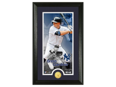 New York Yankees Brett Gardner Highland Mint Supreme Bronze Coin Photo Mint V