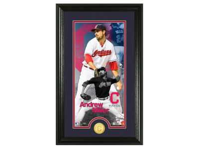 Cleveland Indians Andrew Miller Highland Mint Supreme Bronze Coin Photo Mint V