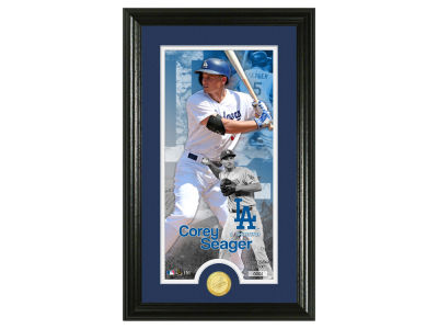 Los Angeles Dodgers Corey Seager Highland Mint Supreme Bronze Coin Photo Mint V