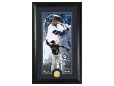 Seattle Mariners Robinson Cano Highland Mint Supreme Bronze Coin Photo Mint V