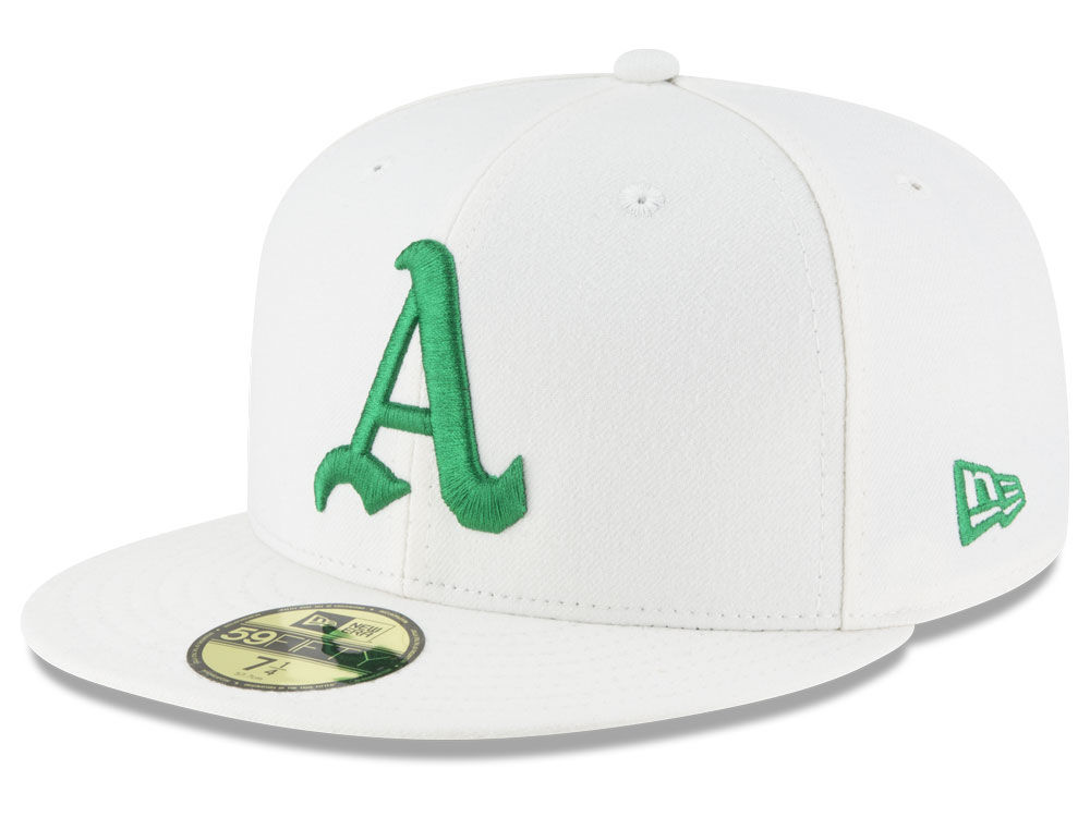 Oakland Athletics New Era 2018 MLB Turn Back The Clock 59FIFTY Cap ... 3e44aac4e3c9