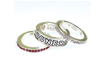 Oklahoma Sooners Trio Ring Set
