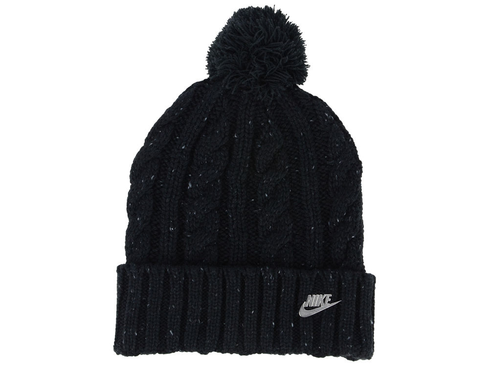 Nike Women s Cable Knit Beanie  e0a67768984