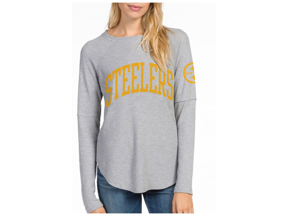 a3928c817 Pittsburgh Steelers Junk Food NFL Women s Thermal Long Sleeve T-Shirt