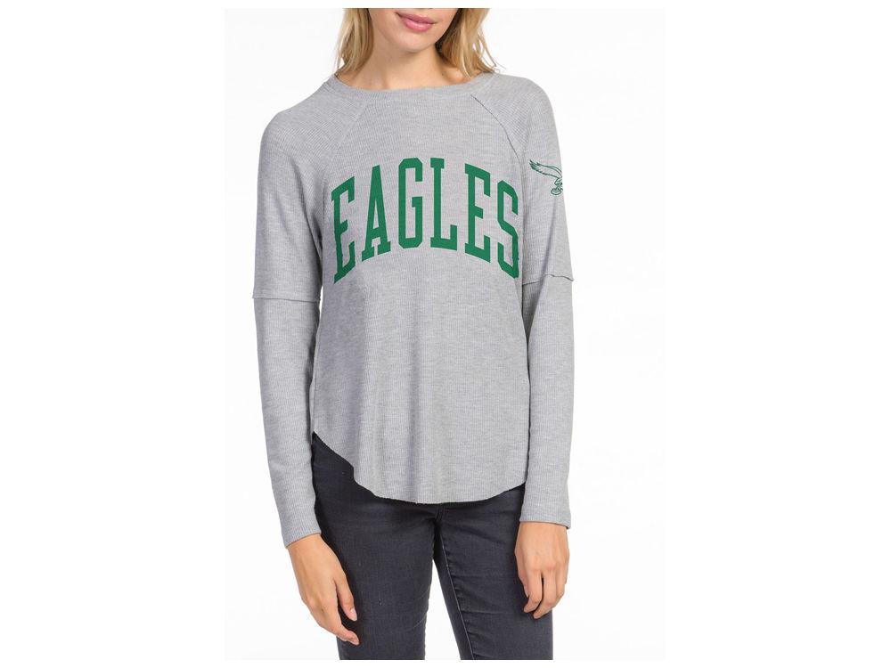Philadelphia Eagles Junk Food NFL Women s Thermal Long Sleeve T-Shirt  dca7306e67