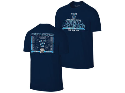 Villanova Wildcats 2018 NCAA Men's National Champ Bracket T-Shirt