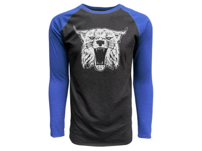 Kentucky Wildcats Top of the World NCAA Men's Heritage Tri-blend Long Sleeve Raglan T-shirt