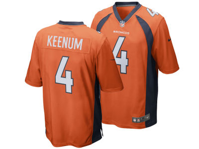 Denver Broncos Case Keenum Nike NFL Youth Game Jersey