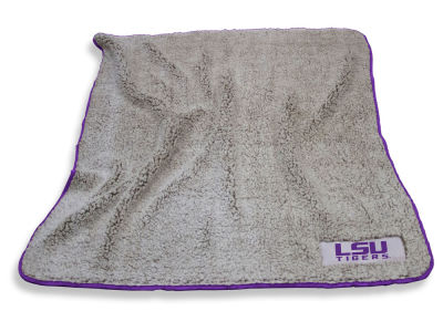 LSU Tigers Logo Brands Frosty Fleece
