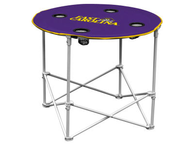 East Carolina Pirates Logo Brands Round Folding Table