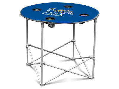 Memphis Tigers Logo Brands Round Folding Table